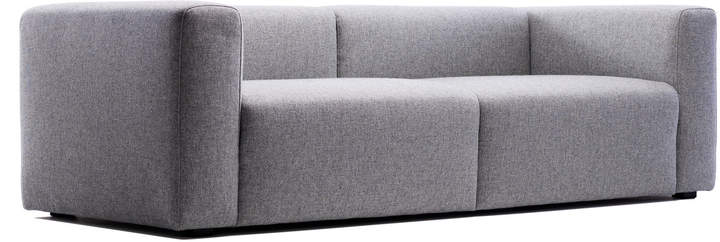 Hay - Mags Sofa ohne Buttons, 2,5-Sitzer, Hallingdal 130 Hellgrau