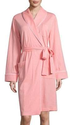 Saks Fifth Avenue Diamond Quilted Interlock Robe