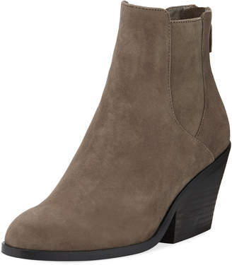 Eileen Fisher Peer Suede Ankle Boot