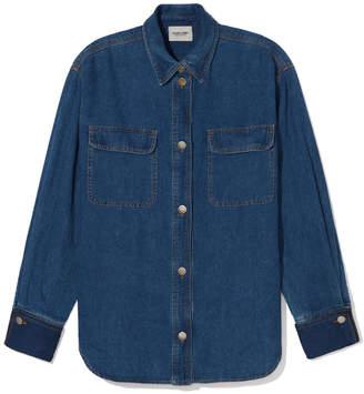 Rachel Comey Adapt Button-Up Denim Shirt