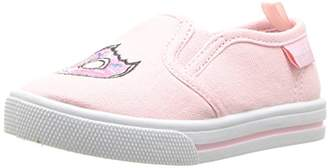 Osh Kosh Donuts Girl's Embroidered Slip-On Loafer Flat