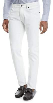 Giorgio Armani 5-Pocket Slim-Straight Jeans