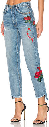 GRLFRND x REVOLVE Helena High-Rise Straight Jean.