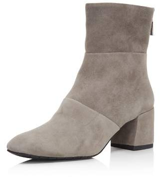 Kenneth Cole Kenenth Cole Women's Eryc Suede Block-Heel Booties