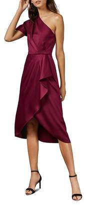 Ted Baker Ridah One-Shoulder Midi Dress