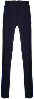 Alexander McQueen side stripe trousers