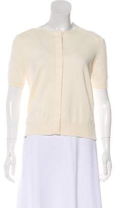 Giambattista Valli Short Sleeve Wool Cardigan