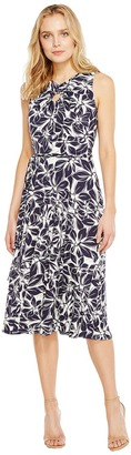Christin Michaels - Viola Sleeveless Fit and Flare Dress Women's Dress $98 thestylecure.com