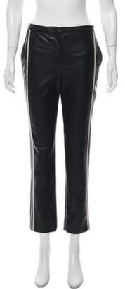 d7e9806cb78a Black Faux Leather Straight Leg Pants - ShopStyle