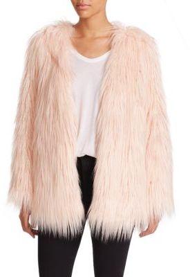 Tart Rella Faux Fur Coat $282 thestylecure.com