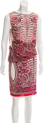 Jean Paul Gaultier Soleil Sleeveless Printed Dress