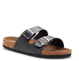 Rock & Republic Men's Double-Buckle Sandals