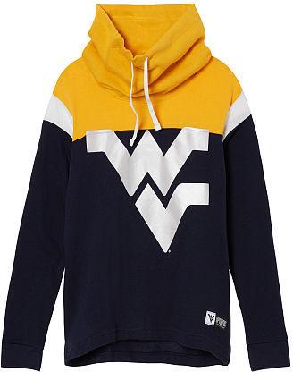 Victoria's SecretVictorias Secret West Virginia University Cowl Pullover
