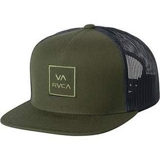 RVCA Men's All The Way Trucker HAT