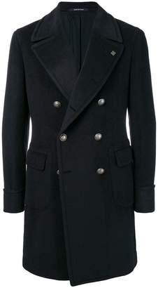 Tagliatore double-breasted jacket coat