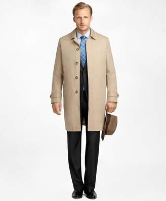 Brooks Brothers Newbury Khaki Trench Coat