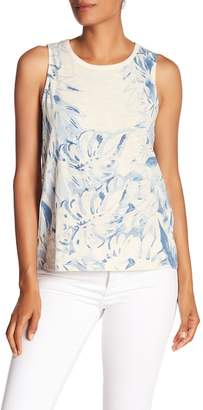 Lucky Brand Printed Floral Tank