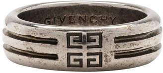 Givenchy (ジバンシイ) - Givenchy シルバー 4G ダブル ロー リング