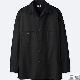Uniqlo Men's U Open Collar Long-sleeve Shirt