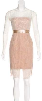 Elisabetta Franchi Lace Knee-Length Dress w/ Tags