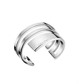 Calvin Klein Beyond Polished Stainless Steel Bangle
