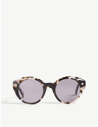 Max Mara Dots round-frame sunglasses