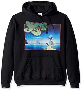 Liquid Blue Men's YES Yessongs Album Cover Pullover Hooded Graphic Sweatshirt