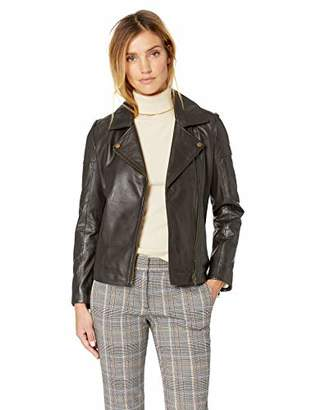 Excelled Women's Leather Updated M/C Jacket