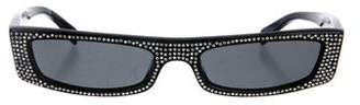 Alexandre Vauthier 2019 Narrow Tinted Sunglasses
