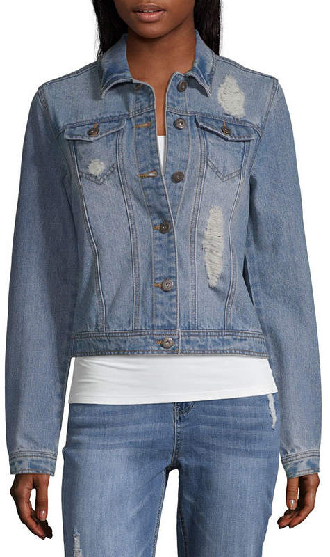 HIGHWAY JEANS Highway Jeans Denim Jacket-Juniors