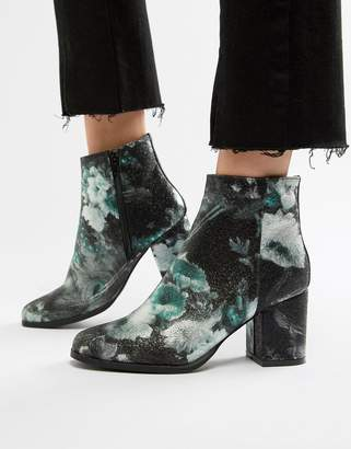 Vero Moda floral ankle boots