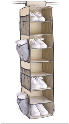 Organize It All 8 Shelf Shoe Storage Bag with Side Pockets