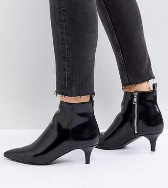 Monki Kitten Heel Ankle Boot