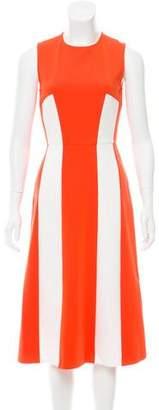 Tanya Taylor Sleeveless A-Line Dress