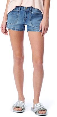 UNIONBAY Juniors' Delaney Stretch Midi Shorts