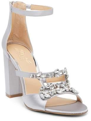 Badgley Mischka Ganice Embellished Heeled Sandal