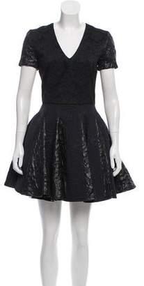 Amen Jacquard Mini Dress