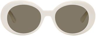 Saint Laurent Ivory SL 98 California Sunglasses $350 thestylecure.com
