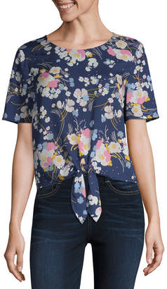 A.N.A Tie Front Top - Tall