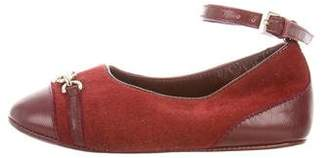 Gucci Infant Girls' Suede Flats