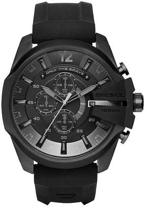 Diesel Men's Chief Chronograph Silicone Strap Watch, 51mm