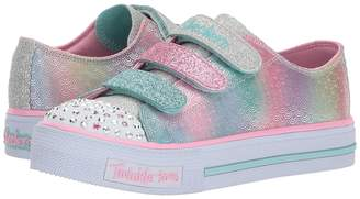 Skechers Twinkle Toes - Shuffles Ms. Mermaid 10912L Lights Girl's Shoes