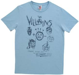 Junk Food Clothing Comic Villains The Villains Marvel Comics Vintage Style Soft Adult T-Shirt Tee: XL