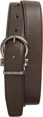 Salvatore Ferragamo Salvatore Ferragaom Reversible Leather Belt