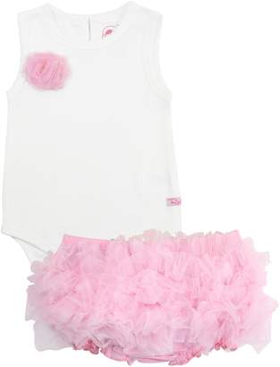 RuffleButts Bodysuit & Tutu Bloomers Set