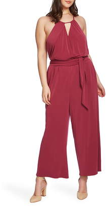 1 STATE 1.STATE Halter Neck Jumpsuit