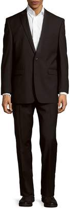 Vince Camuto Men's Slim Fit Textured Wool Suit