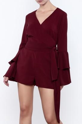 TIMELESS Ruffle Romper $78 thestylecure.com