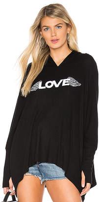 Lauren Moshi Wilma Oversized Top