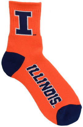 For Bare Feet Illinois Fighting Illini Ankle Socks